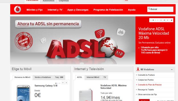 Operadores de móvil Vodafone