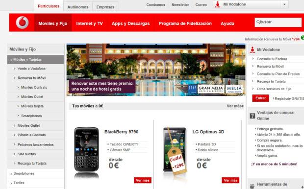 Programas de puntos Vodafone: una opción para renovar tu móvil