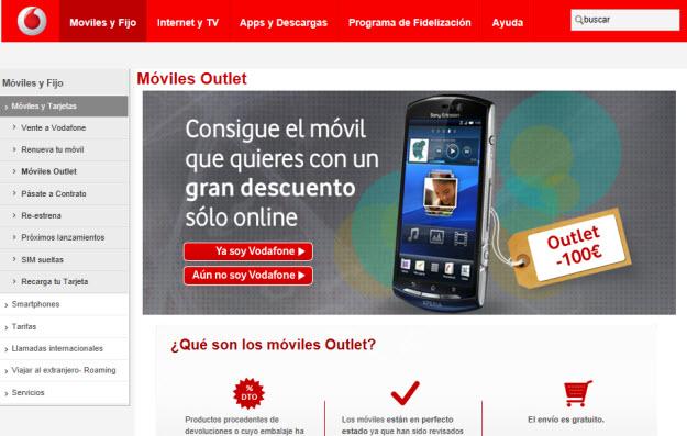 Móviles Vodafone
