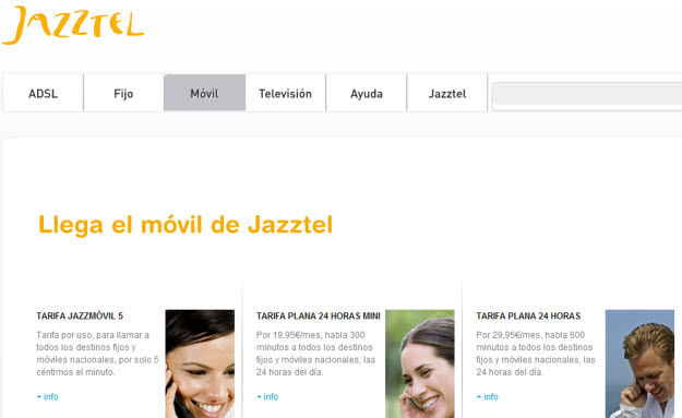 ofertas Jazztel móvil