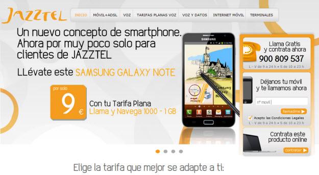 Portabilidad móvil Jazztel