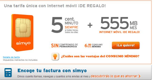 internet por la patilla en simyo