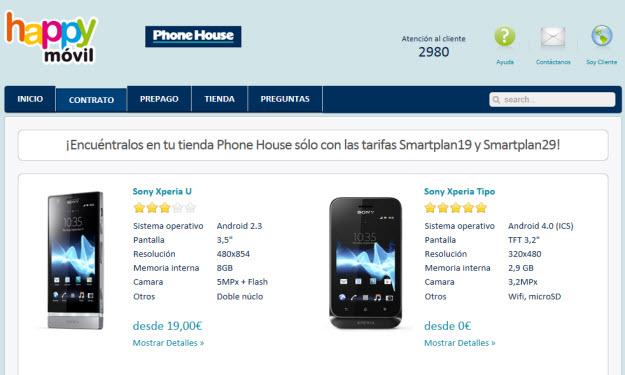 Mejores ofertas de móviles