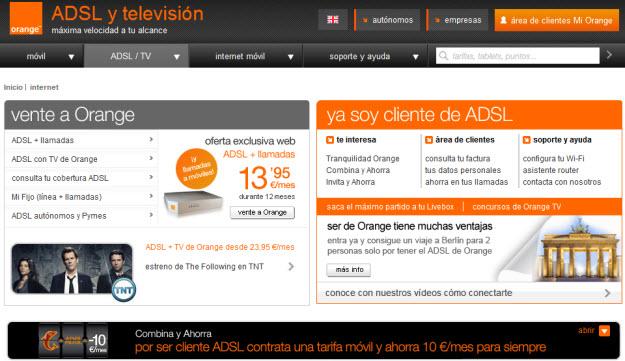 Opinión sobre Orange 2013 ADSL Y TV