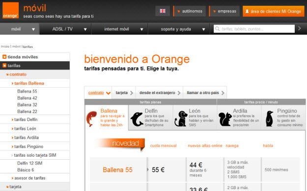 Opinión sobre Orange 2013