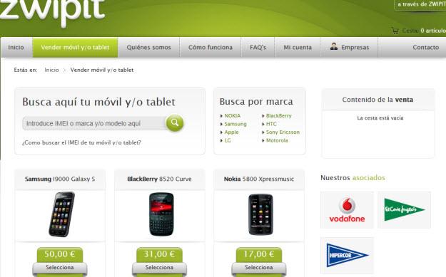 Vender tablet usada en Zwipit