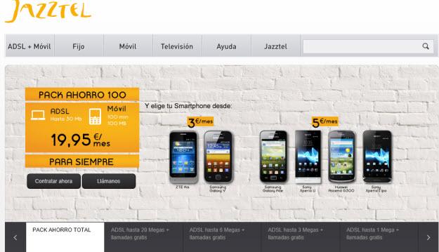 ADSL económico 2013 de Jazztel