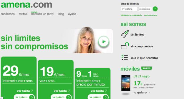 Comparativa tarifas planas móviles 2013