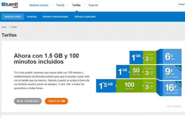 Internet móvil más barato en Tuenti