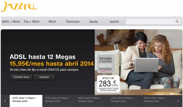 Ofertas Jazztel ADSL 2013