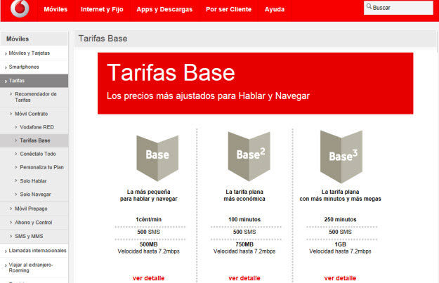 Vodafone Base 1 Adsl