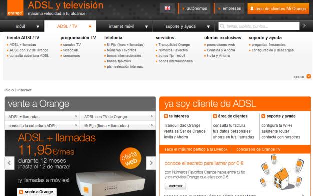 ADSL Orange opiniones