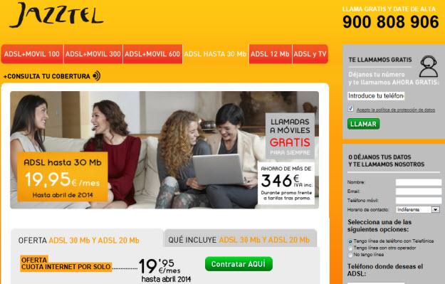 ADSL más barato del mercado
