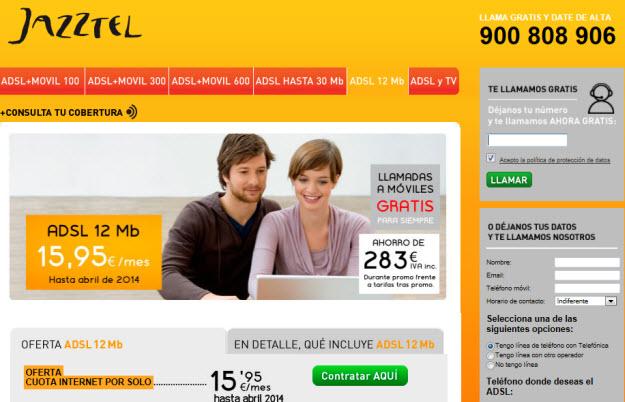 ADSL más barato