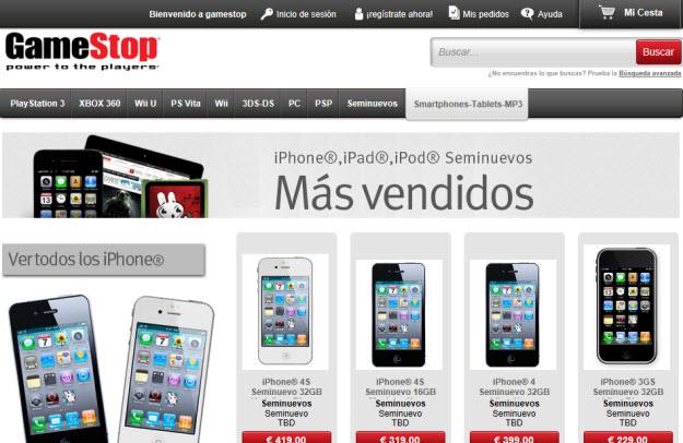 Comprar smartphone segunda mano