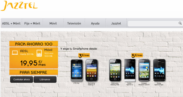 Jazztel móvil portabilidad