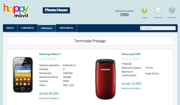 Móviles The Phone House