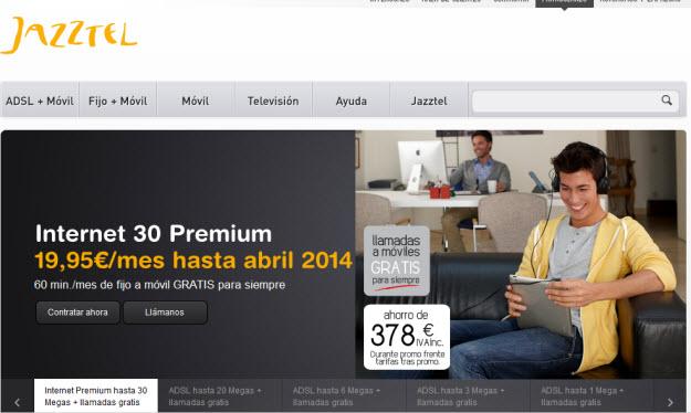 Portabilidad Jazztel con tarifas