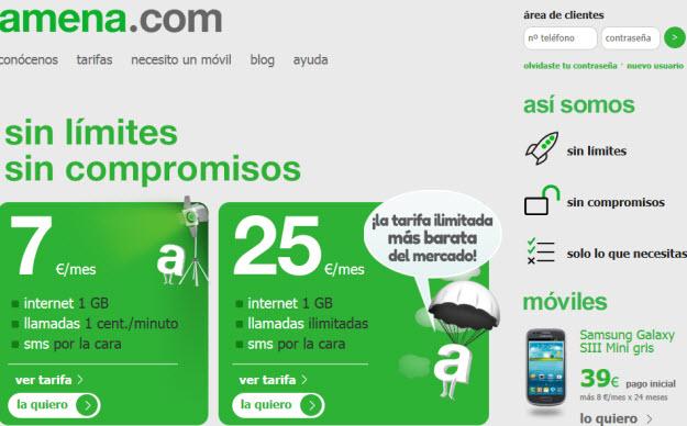 Opciones a las Tarifas Red Vodafone