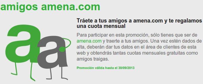 Tarifa móvil más barata con Amena