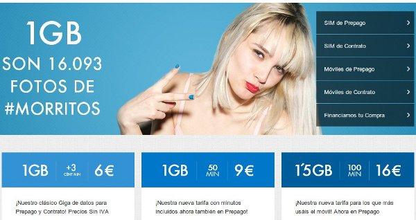 Tarifas Tuenti: Internet móvil barato