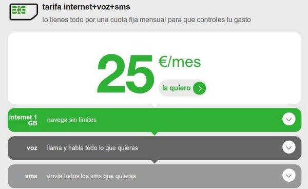 Las mejores tarifas de Internet móvil
