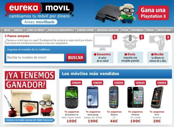 Eurekamovil: reciclaje de teléfonos móviles al mejor precio