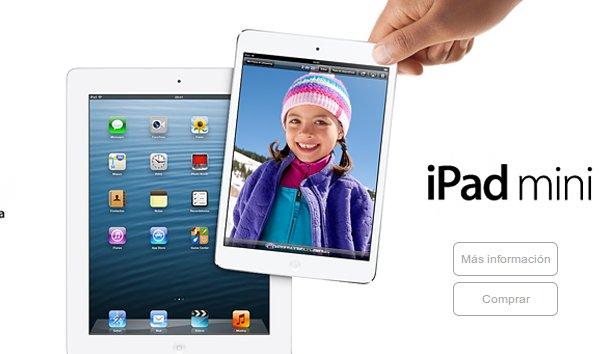 iPad mini Vodafone: ¡consigue el tuyo!