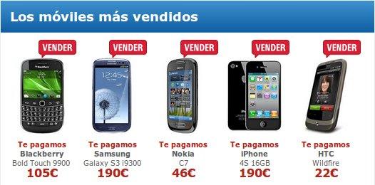 Dónde vender móviles usados en Internet