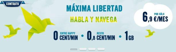 Happy Phone: teléfonos felices con Happy Móvil