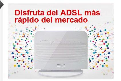Vodafone ADSL: el ADSL más rápido del mercado