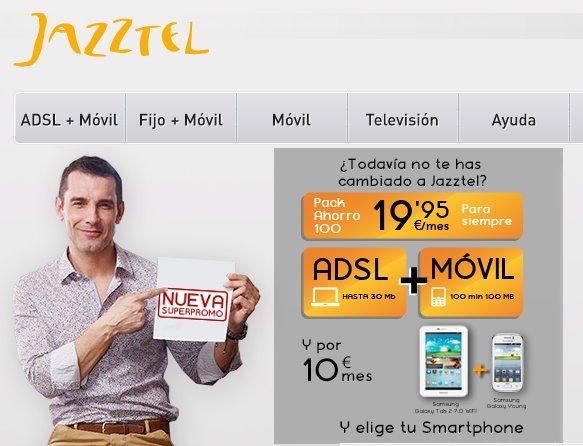 Con Jazztel, tu adsl más barato