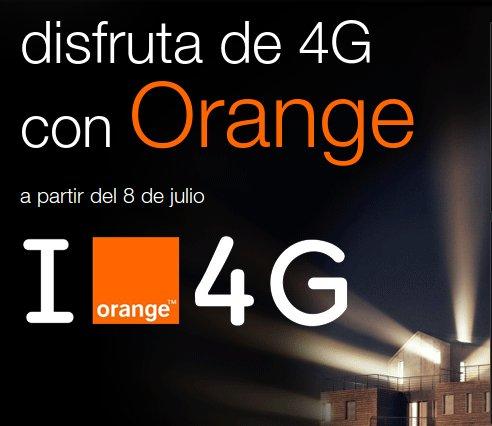 Descubre el nuevo mundo con las ofertas 4G Orange