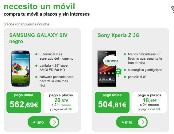 Descubre las ofertas Amena 2013 en smartphones