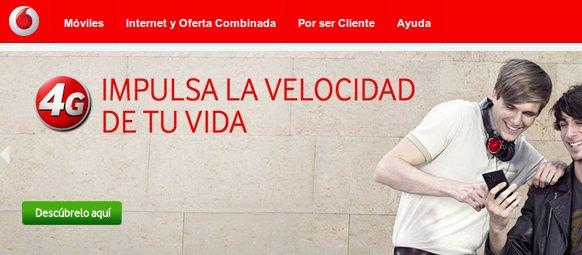 Descubre las ofertas Vodafone 4G