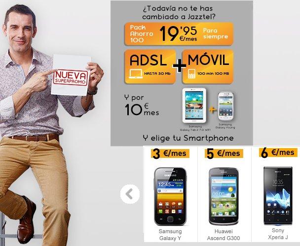 Descubre las ofertas de portabilidad de Jazztel