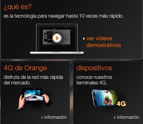 Descubre las ventajas de las nuevas ofertas 4G de Orange