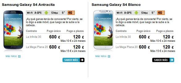 Encuentra móviles compatibles con 4G en Yoigo