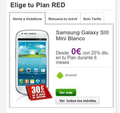 Vodafone, entre los que sacan los colores a Movistar ofertas móviles