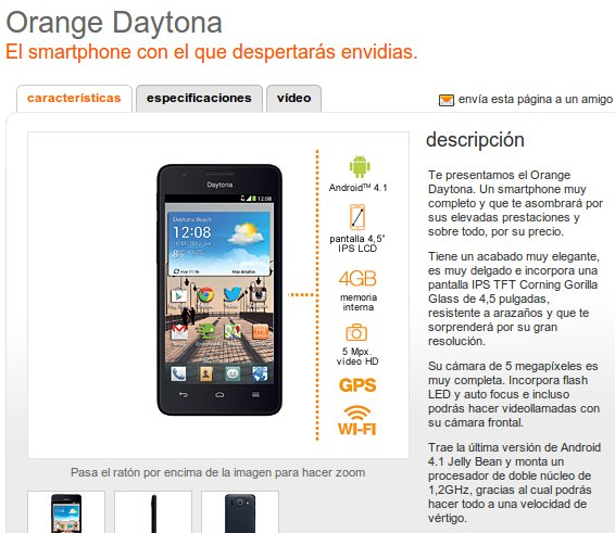 Orange Daytona