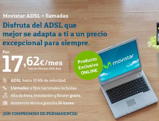 precios adsl