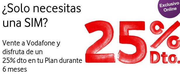 Vodafone tarifas móvil