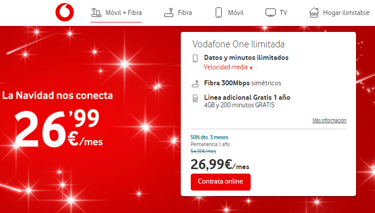 vodafone adsl y movil