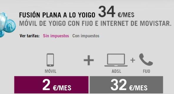 ADSL integrado