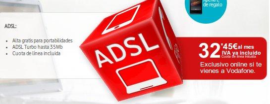 ADSL sin llamadas