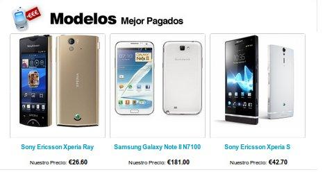 venta de móviles usados