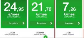 3 tarifas móviles de contrato por menos de 10 euros al mes