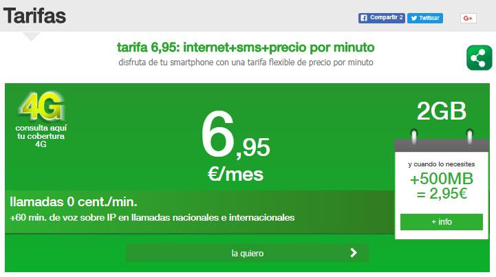 amena tarifas internet