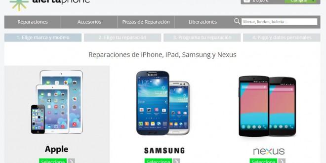 Reparacion de móviles Iphone, Samsung, Nexus y Ipad