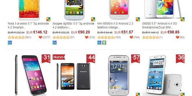 Comprar móviles libres chinos: 2 opciones baratas y seguras